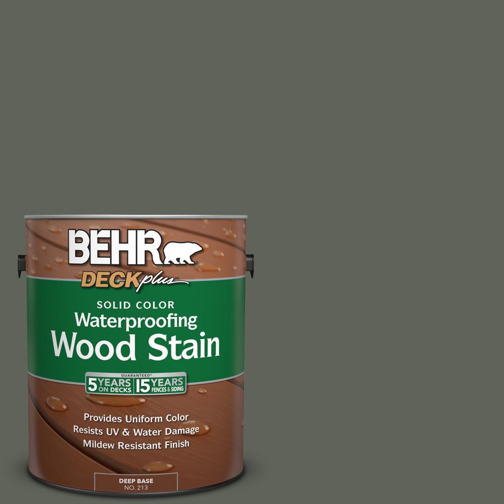 1 gal. #SC-131 Pewter Solid Color Waterproofing Wood Stain