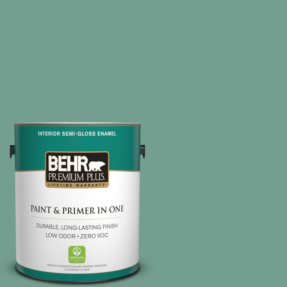 1-gal. #M430-5 Regal View Semi-Gloss Enamel Interior Paint