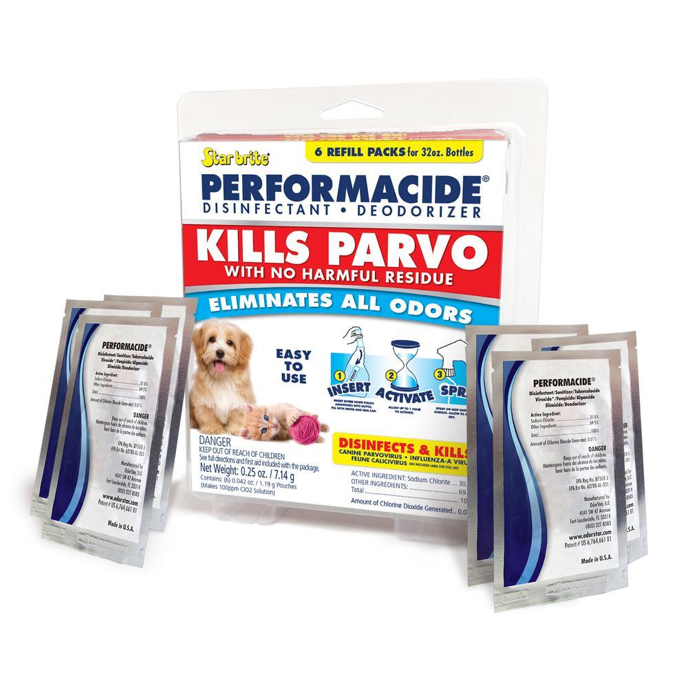 Kills Parvo 6 Pack 32 oz. Refill