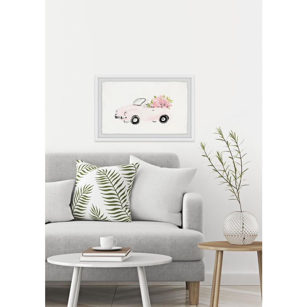 """24 in. H x 36 in. W """"Pink Beauty"""" by Marmont"""