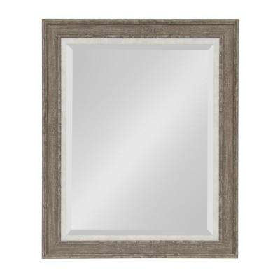 Woodway Rectangle Gray Mirror