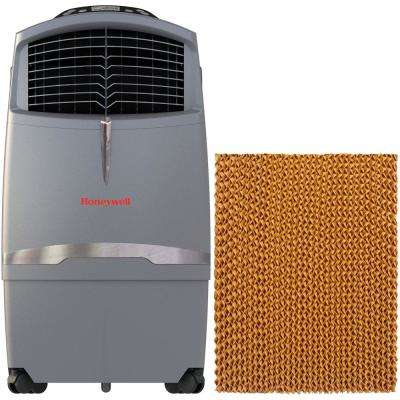 525 CFM 3-Speed Portable Evaporative Air Cooler for 320 sq. ft. with Bonus Filter and Remote Control