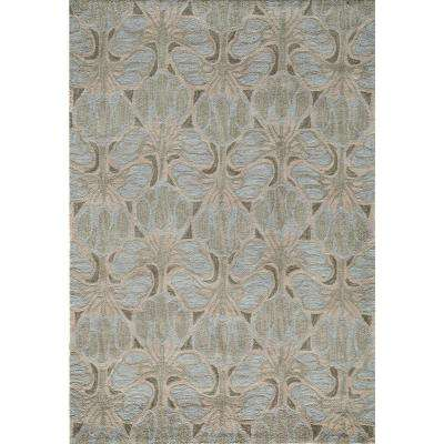 Rio Silver 5 ft. x 7 ft. 6 in. Indoor Area Rug
