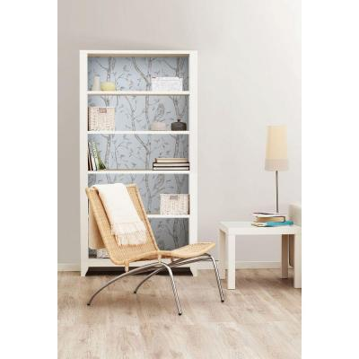 Blue Woods Vinyl Strippable Wallpaper (Covers 30.75 sq. ft.)