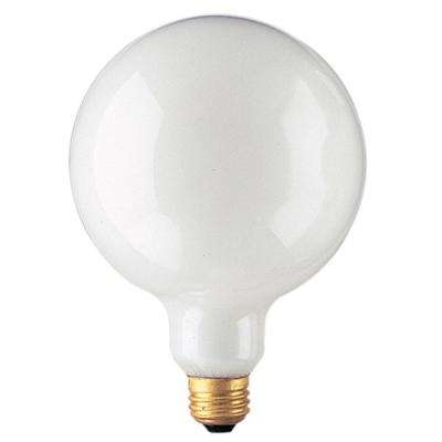 100-Watt G40 White Dimmable Warm White Light Incandescent Light Bulb (12-Pack)