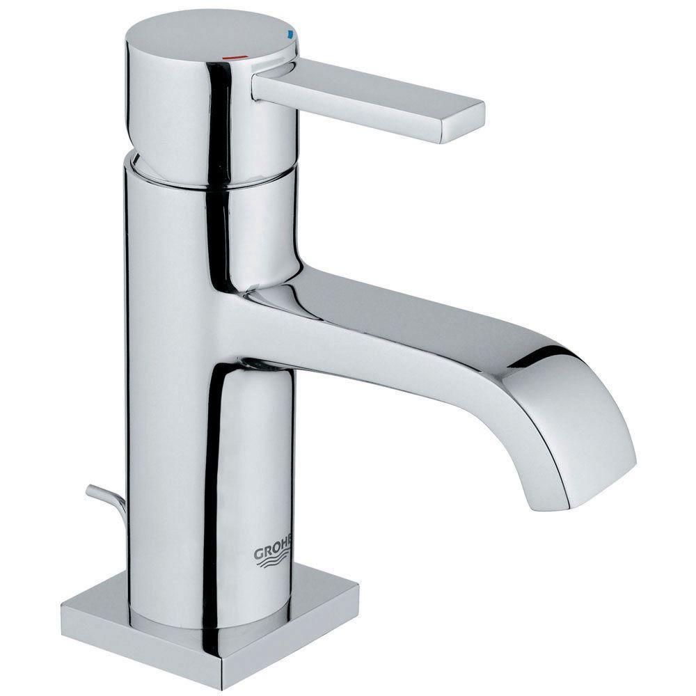 allure single hole single handle lowarc bathroom faucet