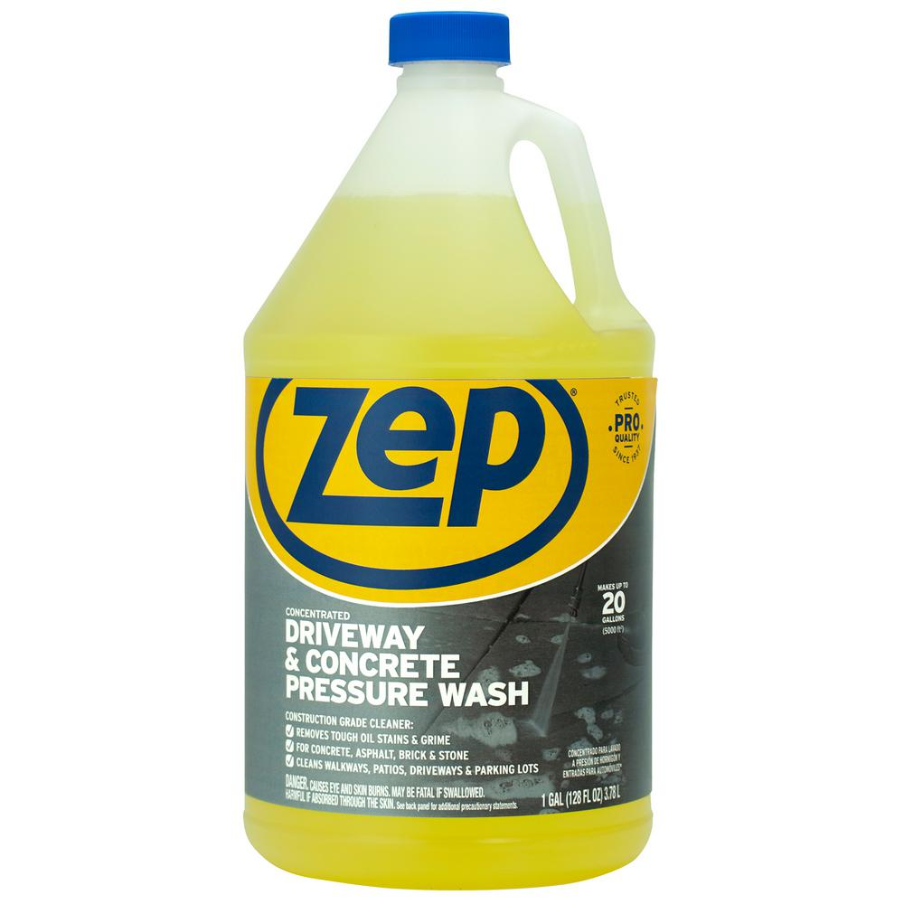 ZEP 1 Gallon Driveway and Concrete Pressure Wash Concentrate Cleaner