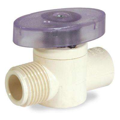 1/2 in. x 1/2 in. OD CPVC CTS Supply Valve