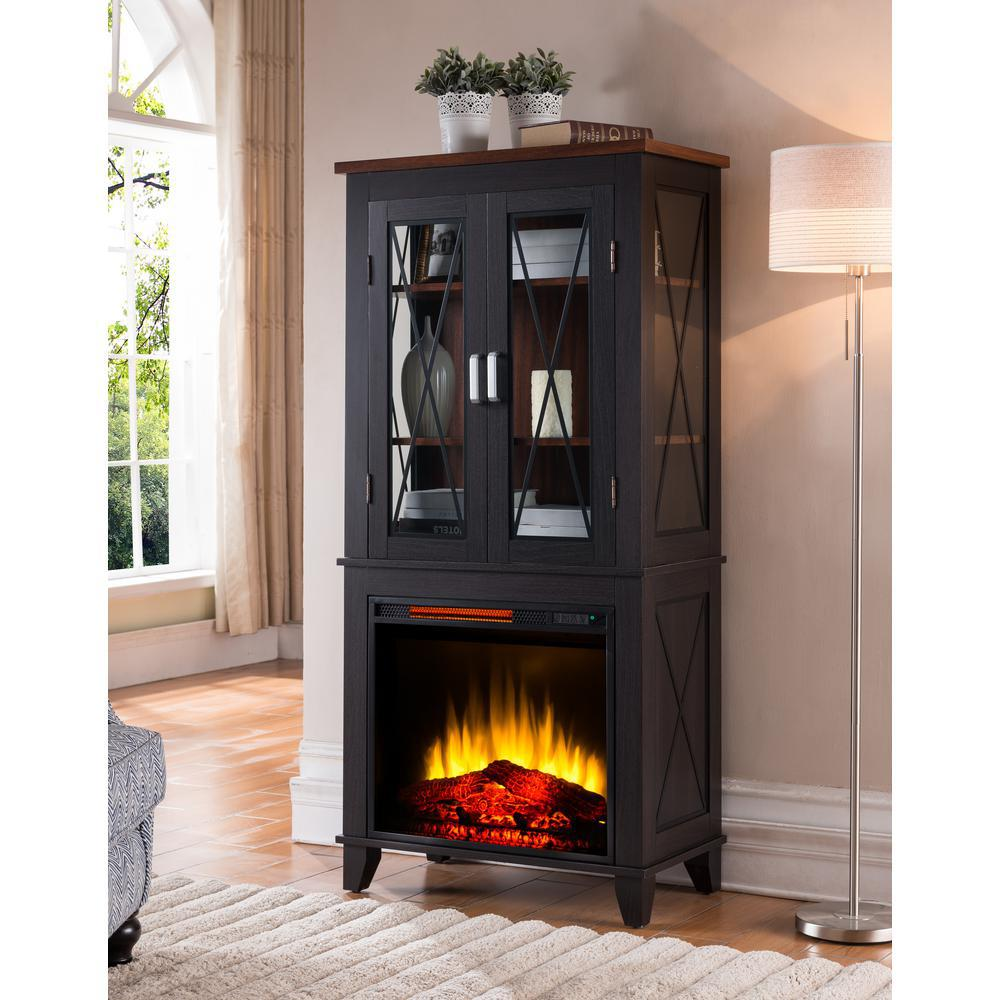 Fireplace Cabinets: Bold Flame Concord 30 In. Display Cabinet Electric