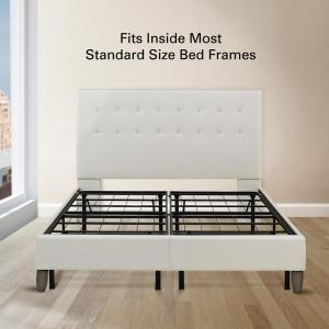 Rest Rite 14 in King Metal Platform Bed Frame with Cover