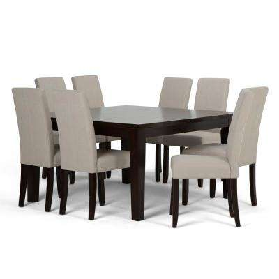 Acadian 9-Piece Natural Dining Set