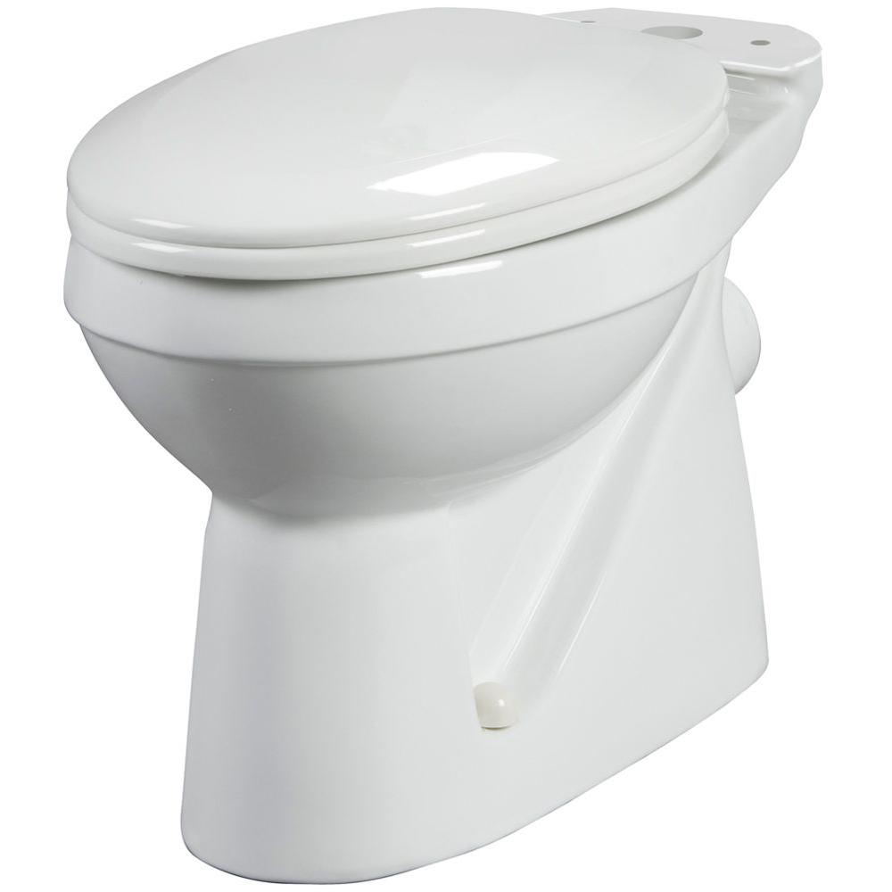 Bathroom Anywhere Elongated Toilet Bowl Only in White