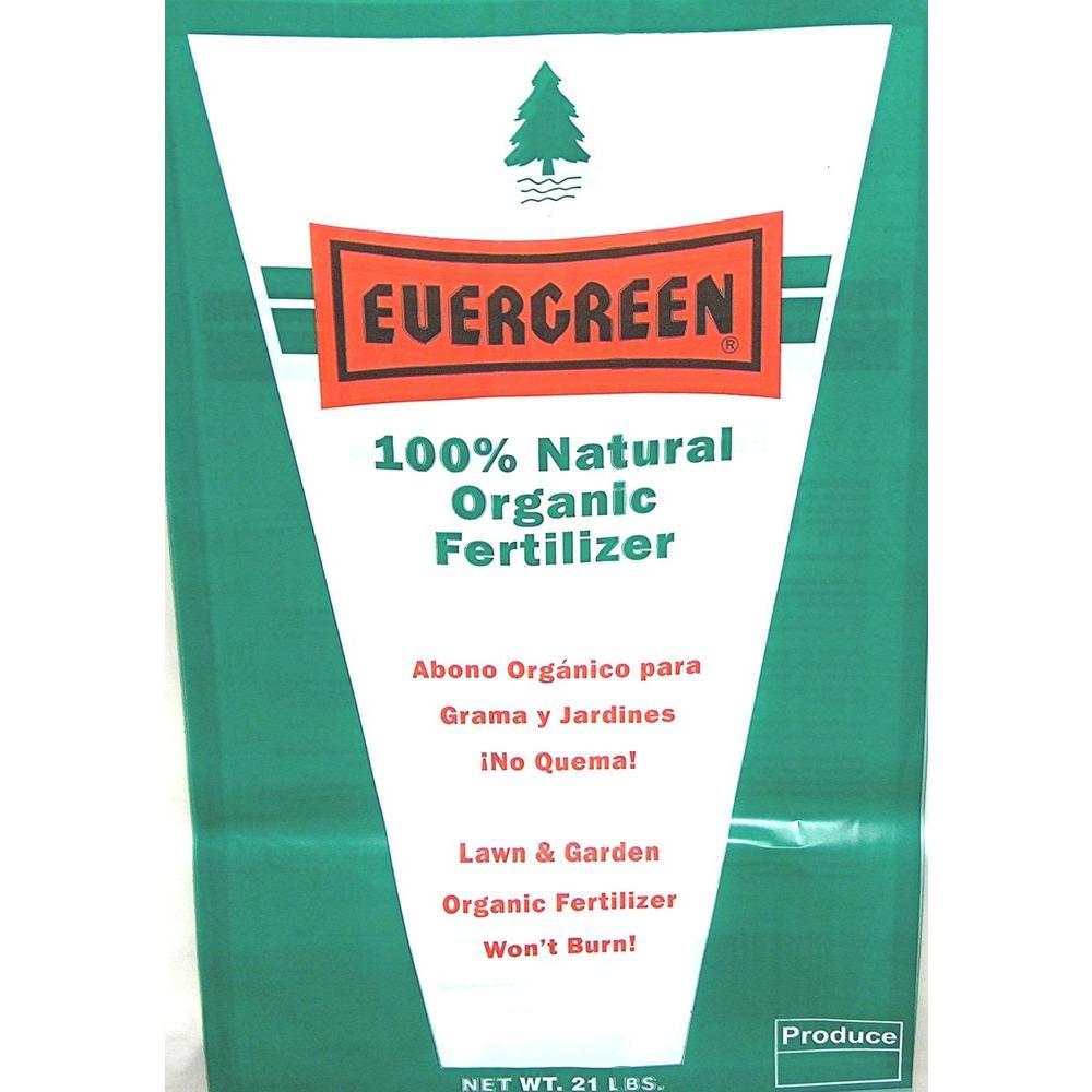 Evergreen 21 lb. Dry Organic Lawn Fertilizer