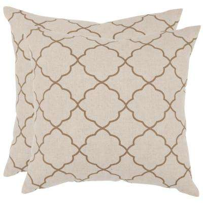 Sophie Geometric Printed Patterns Pillow (2-Pack)