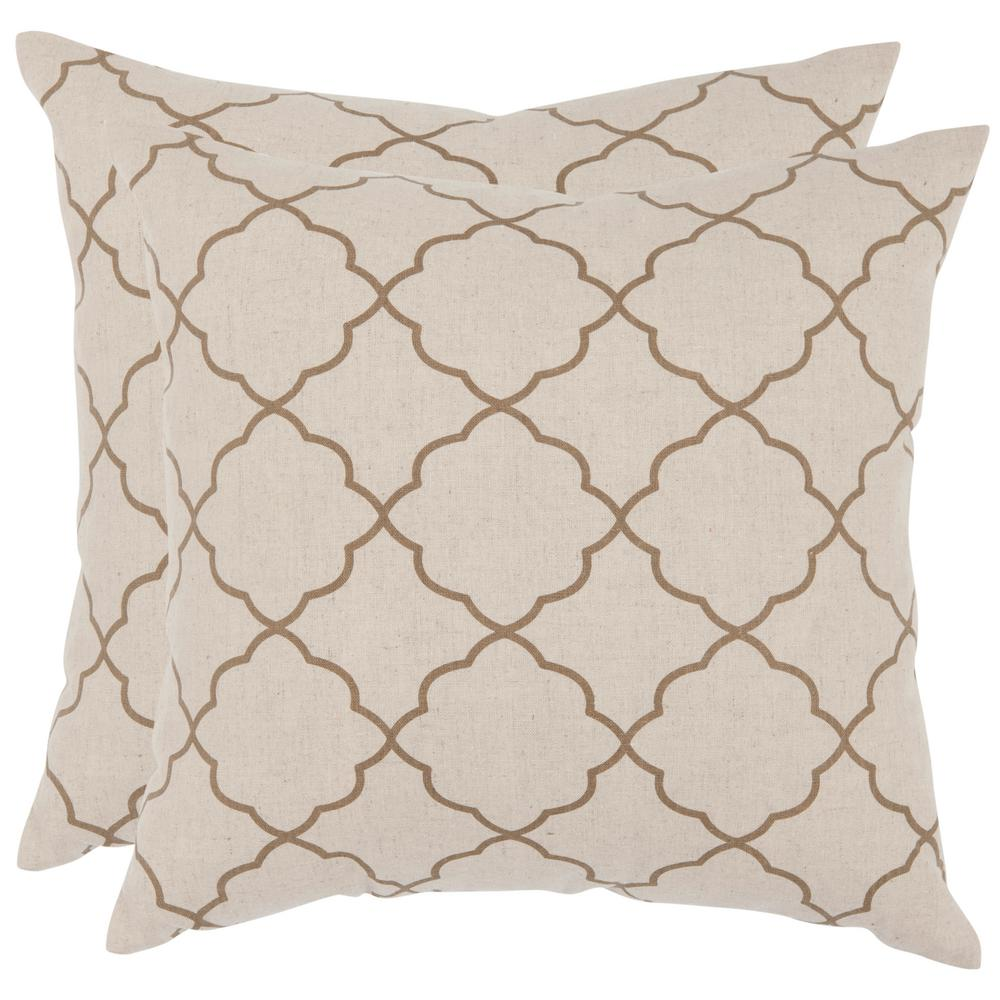 Safavieh Sophie Geometric Printed Patterns Pillow (2-Pack)