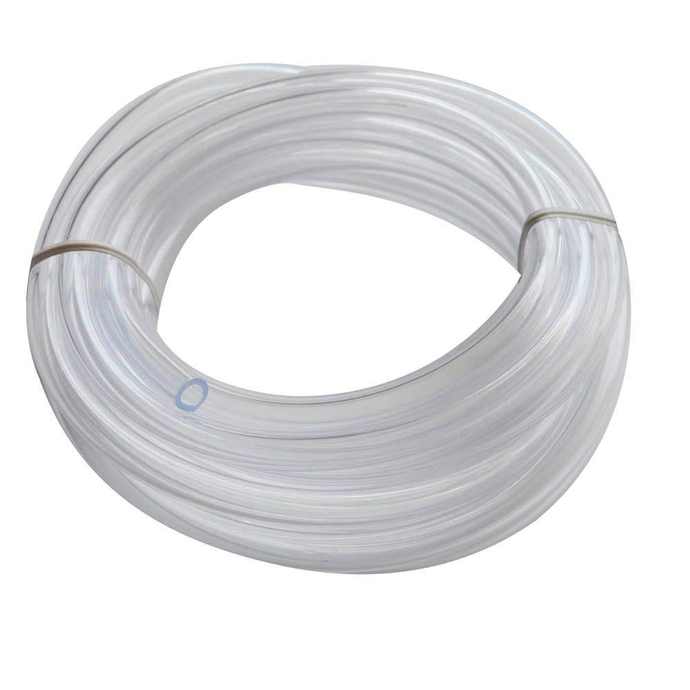 Everbilt 1 4 In Od X 0170 Id 10 Ft Pvc Clear Vinyl Tube Plastic Pipe Through Which Electrical Wires Are Run This Conduit
