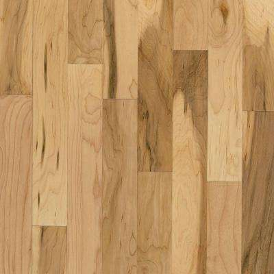 Take Home Sample - American Originals Country Natural Maple Engineered Click Lock Hardwood Flooring - 5 in. x 7 in.