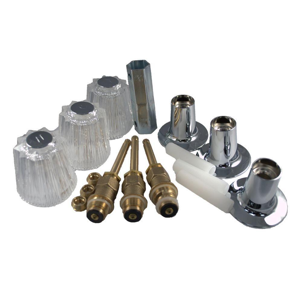 PartsmasterPro Tub and Shower Rebuild Kit for Price Pfister - Windsor by PartsmasterPro