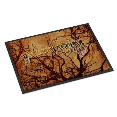 18 in. x 27 in. Indoor/Outdoor A Spook Tacular Day Halloween Door Mat