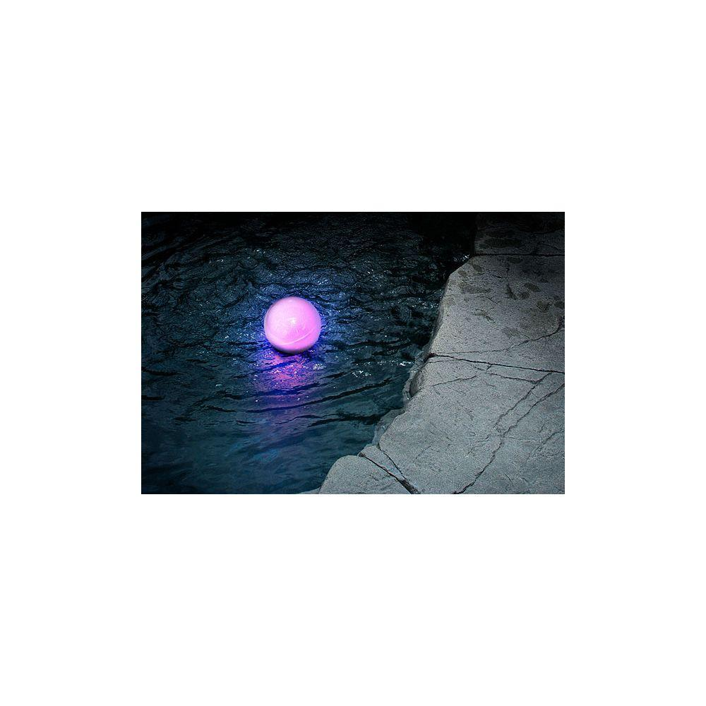St. Petersburg Floating Outdoor Frosted LED Multi-Color Globe Light-DISCONTINUED