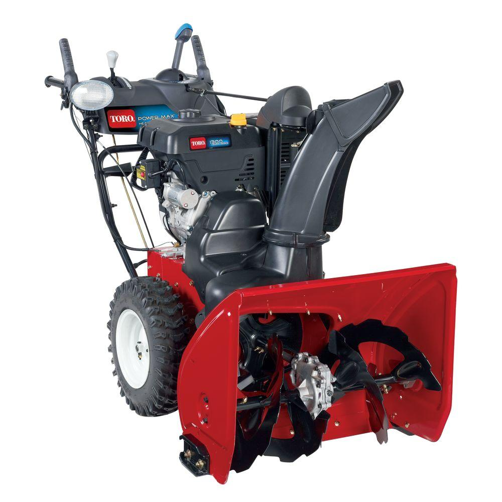 Toro Power Max HD 928 OHXE 28 in. 265cc Two-Stage Gas Snow Blower