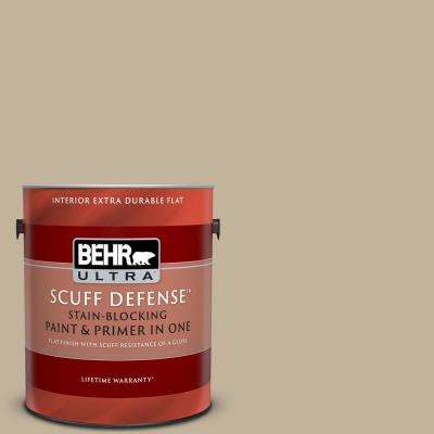 Behr Ultra 1 Gal Bnc 03 Essential Brown Extra Durable Flat Interior Paint Primer 172401 The Home Depot