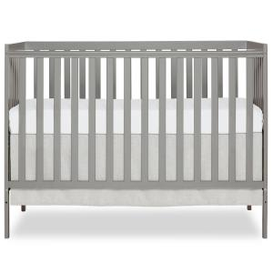 Synergy Cool Grey 5-in-1 Convertible Crib