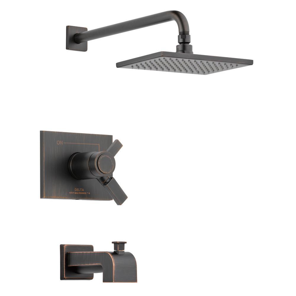 Delta Vero TempAssure 17T 1-Handle Tub and Shower Faucet