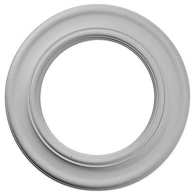 20-7/8 in. x 12-7/8 in. ID x 1 in. Holmdel Urethane Ceiling Medallion (Fits Canopies upto 12-7/8 in.)