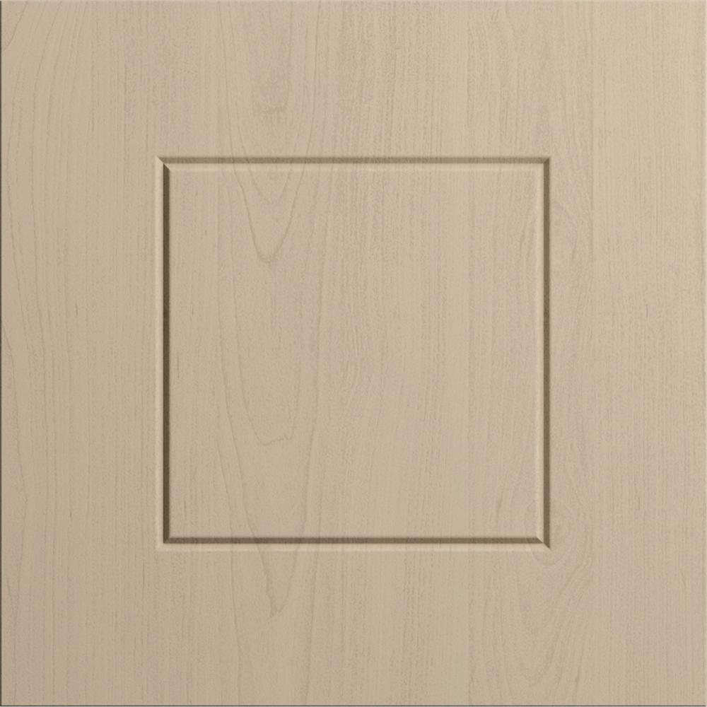 WeatherStrong 12x12 in. Cabinet Sample Door Palm Beach in River Sand