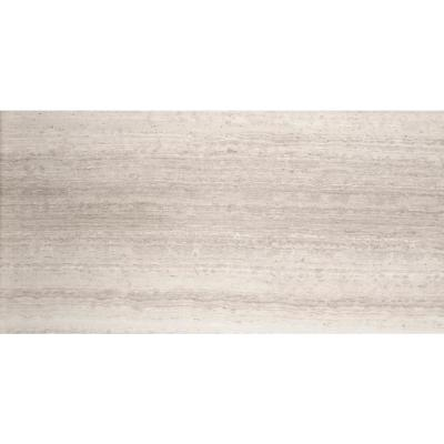 Marble Cream Honed 12.01 in. x 24.02 in. Limestone Floor and Wall Tile (2.0 sq. ft.)