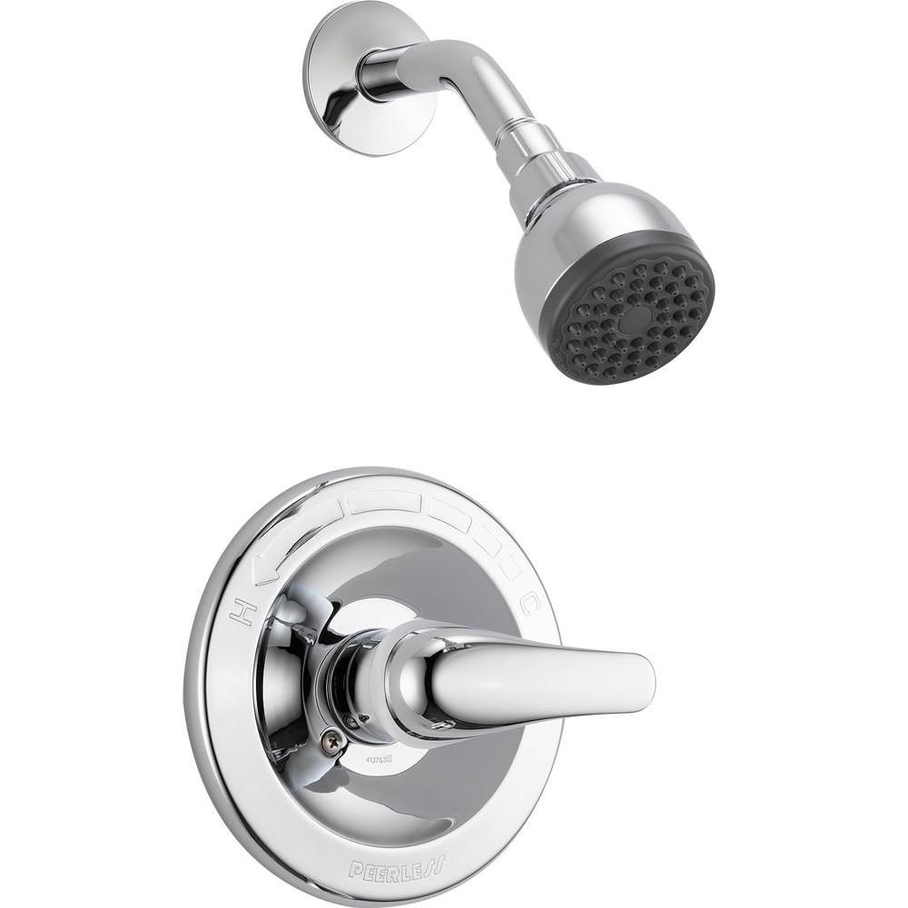shower faucet tub two com complete apex dp brushed amazon nickel peerless faucets bn and handle
