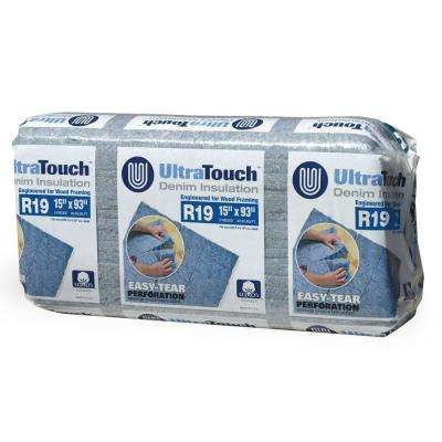 15 in. x 93 in. R19 Denim Insulation (12-Bags)