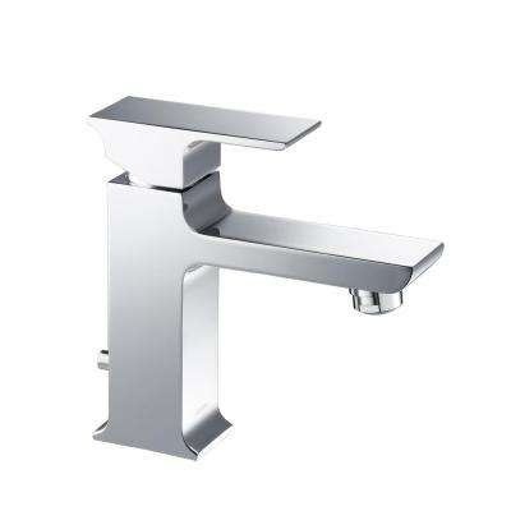 Adler Single Hole 1-Handle 1.2 GPM CALGreen Bathroom Faucet in Chrome