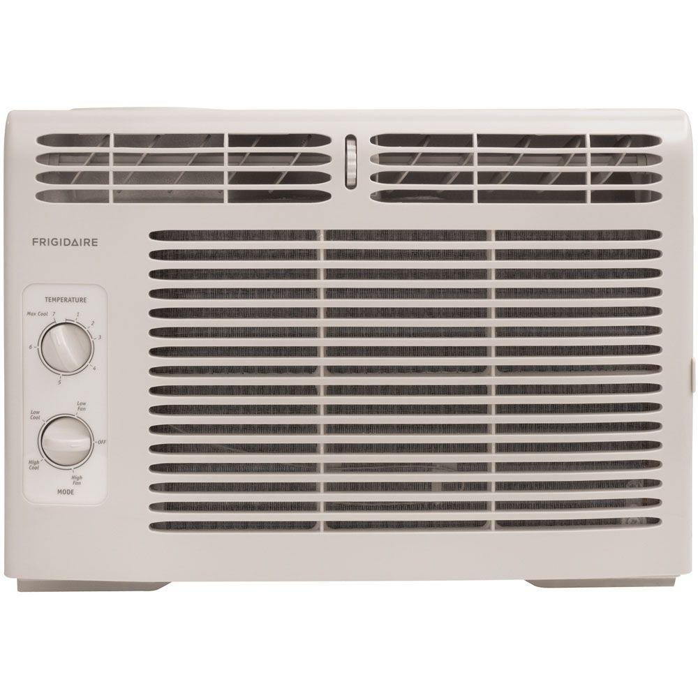 Frigidaire 5,000 BTU 115-Volt Window-Mounted Mini-Compact Air Conditioner with Mechanical Controls