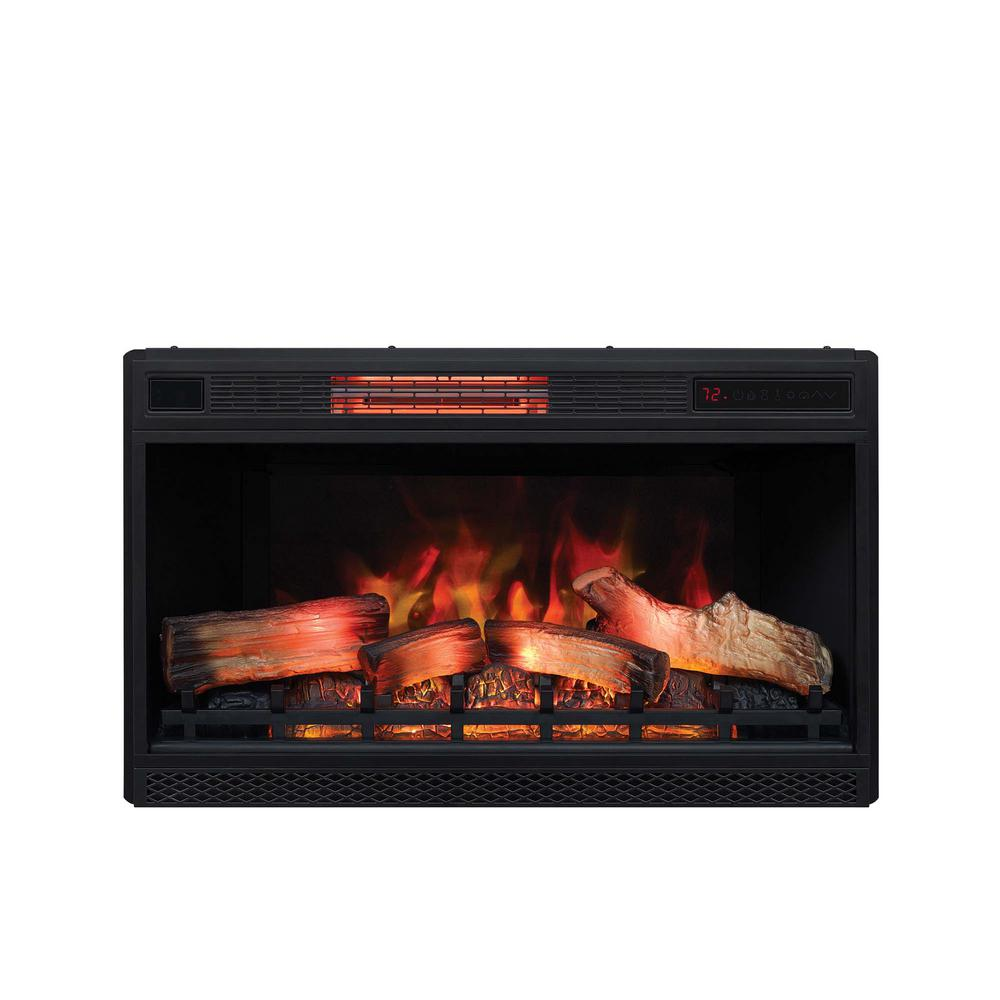 Plug In Electric Fireplace Inserts: SpectraFire 36 In. Traditional Built-in Electric Fireplace