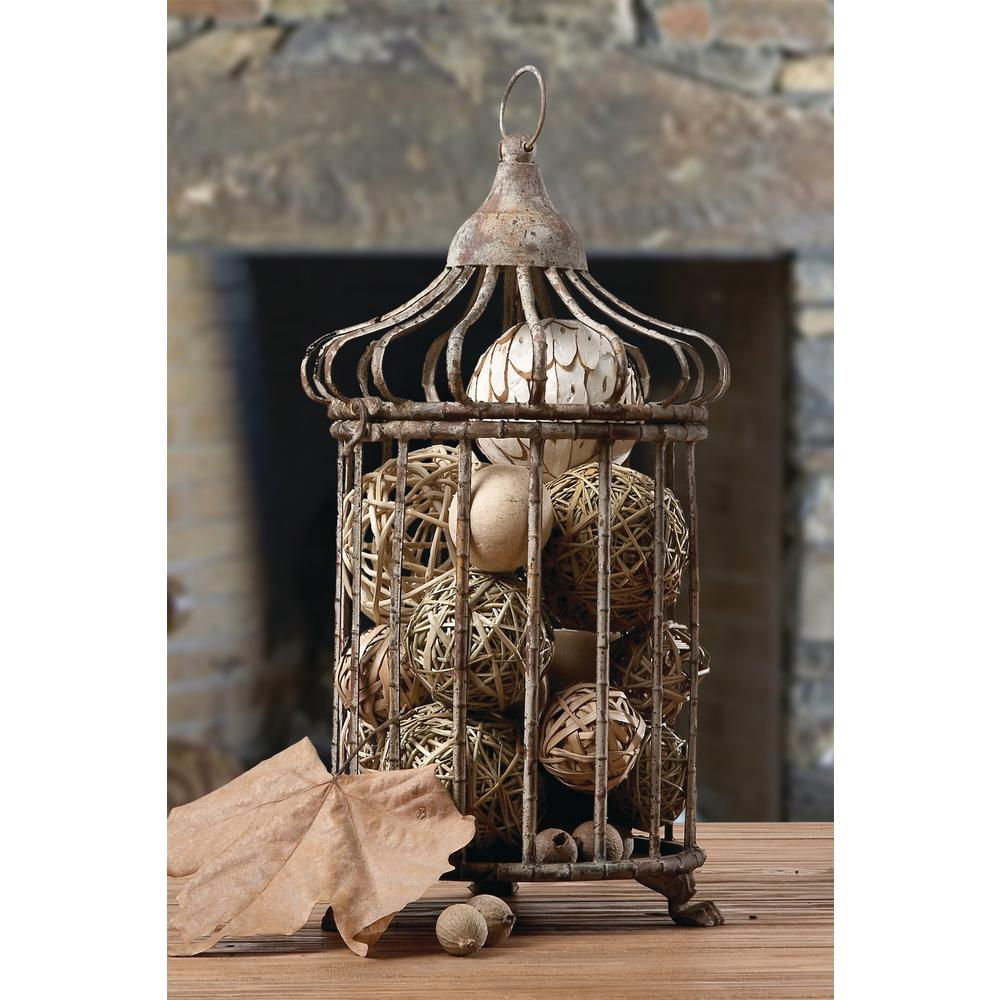 Metal Set of 2 Bird Cages (2-Pack)