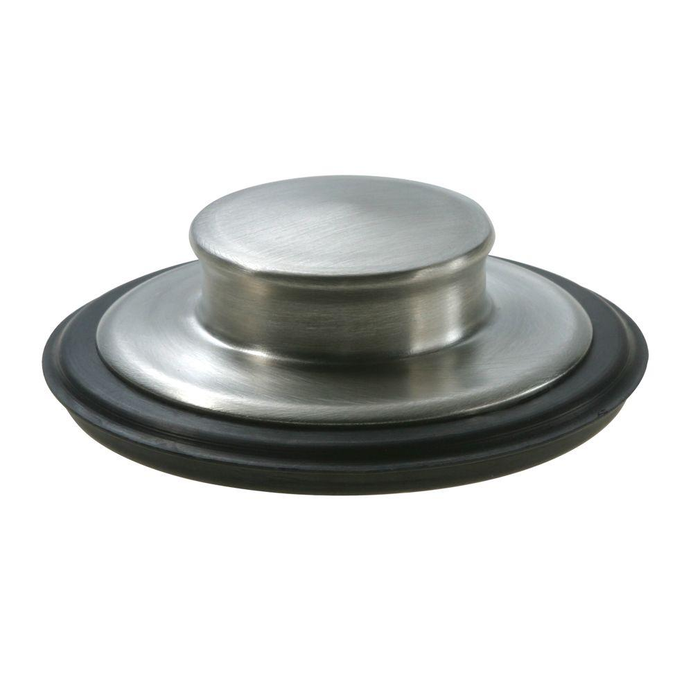 Insinkerator Sink Stopper In Brushed Stainless Steel For