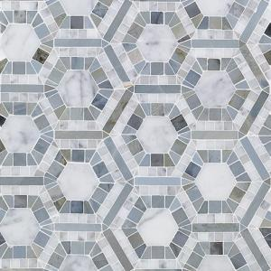 Splashback Tile Kosmos Carrera And Moonstone Hexagon 11 3