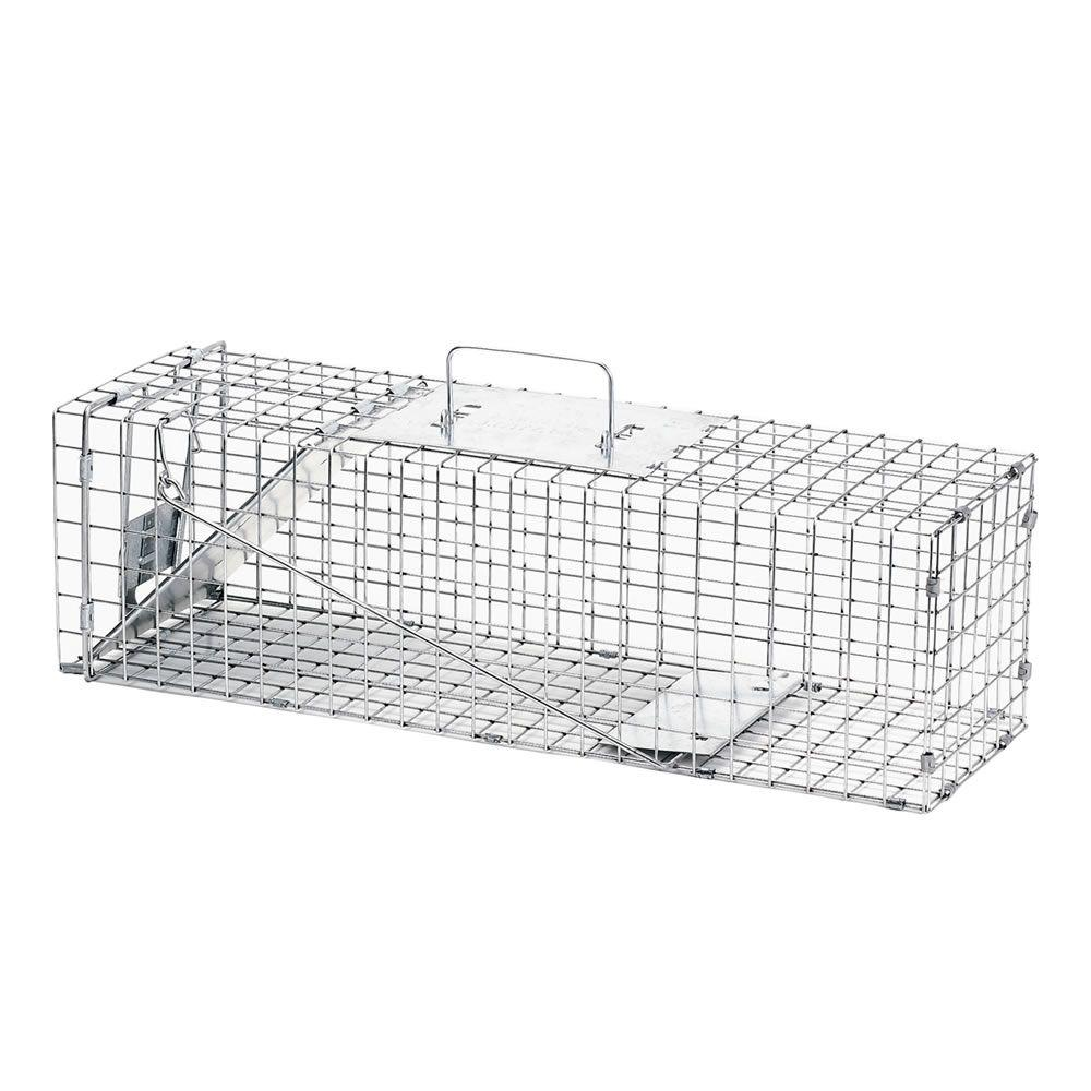 Medium 1-Door Live Animal Cage Trap