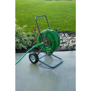 Click here to buy Yard Butler 2 Wheeled Hose Reel Cart by Yard Butler.