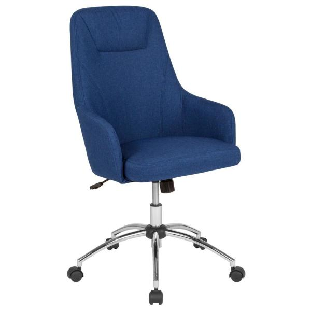 Flash Furniture Blue Fabric Office/Desk Chair CGA-BT-232157-BL-HD