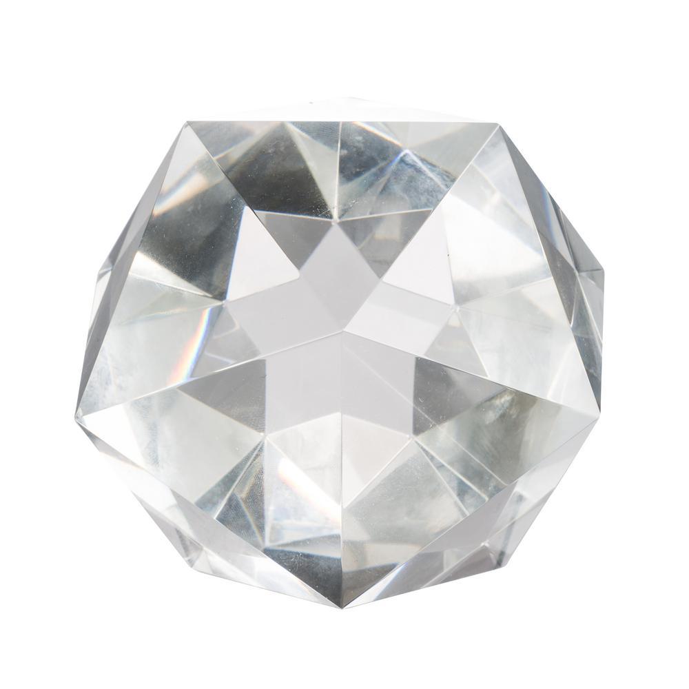 Polygon Crystal Decorative Accent
