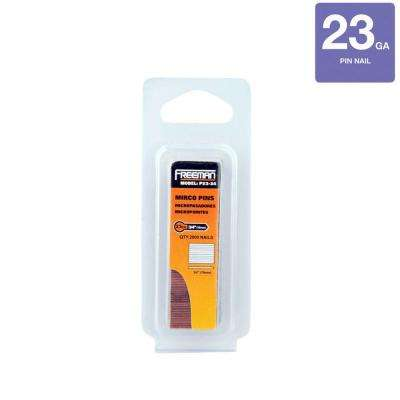 3/4 in. 23-Gauge Glue Collated Pin Nail (2000 per Box)