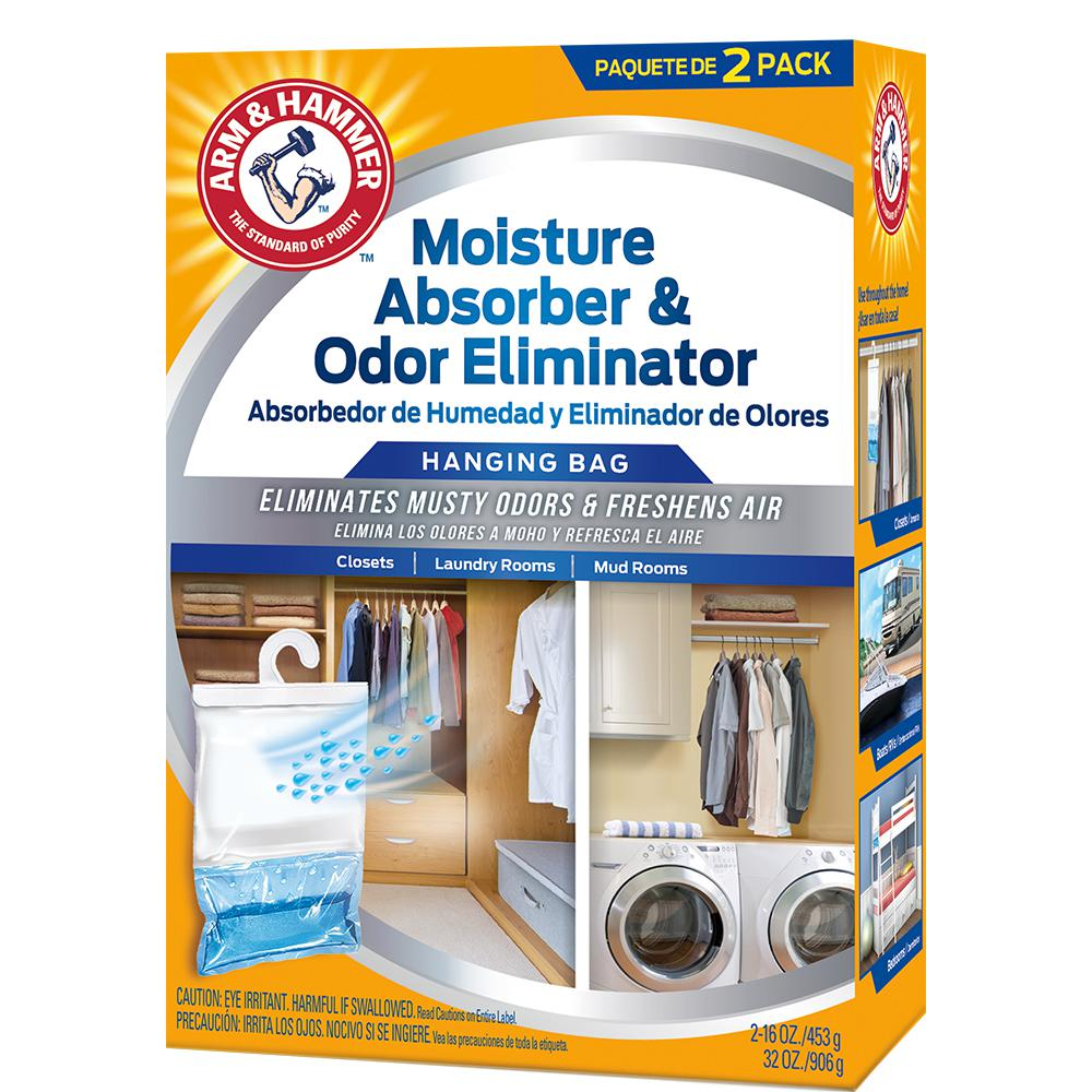 Moisture Absorber And Odor Eliminator (2 Pack) FGAH32   The Home Depot