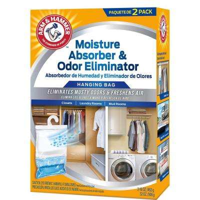 16 oz. Moisture Absorber and Odor Eliminator (2-Pack)