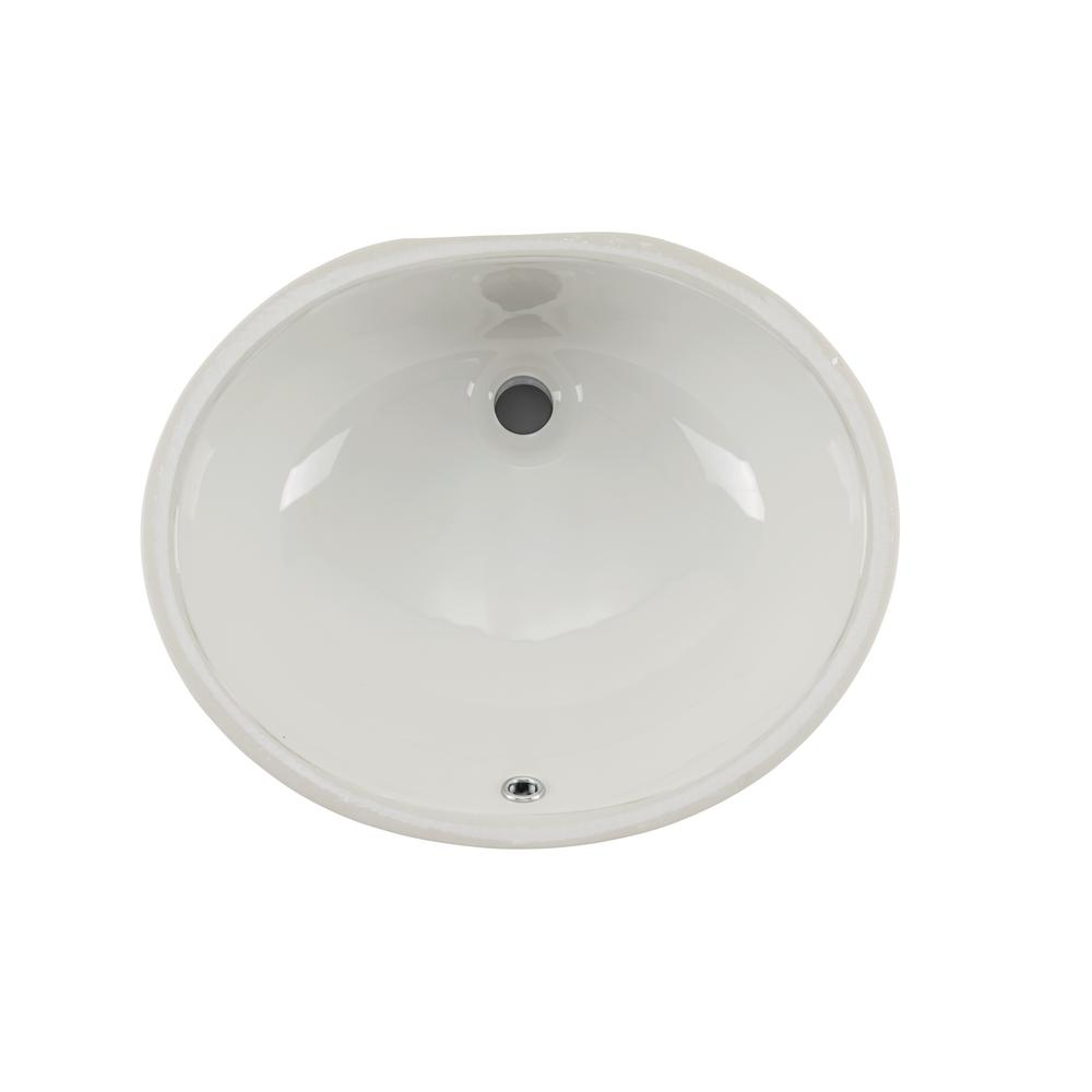 Merveilleux Cahaba 19 1/4 In. X 16 1/4 In. Glazed Porcelain Bathroom Sink In  White CA425V17 W   The Home Depot