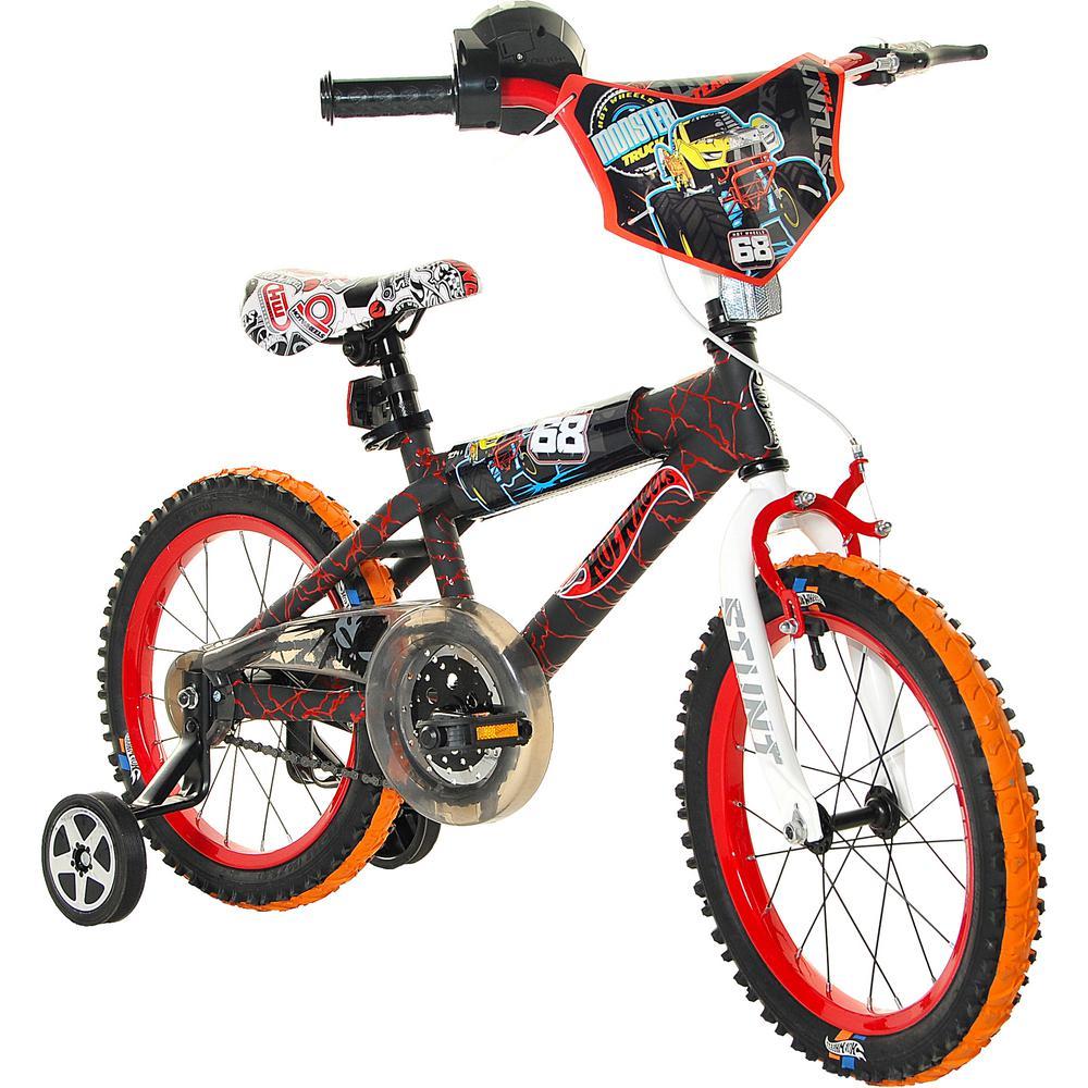 92e23567541 Dynacraft 16 in. Boys Hot Wheels Bike-8054-34TJI - The Home Depot