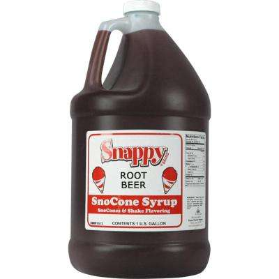 Snow Cone Syrup. 1 Gal. Root Beer