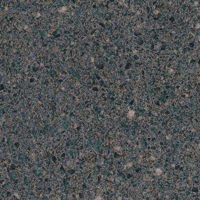 3 in. x 5 in. Laminate Countertop Sample in Smoky Topaz with Premium Textured Gloss Finish